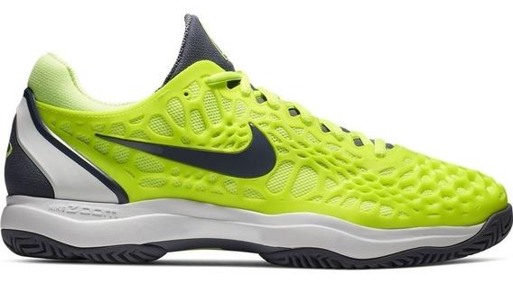Tênis Nike Air Zoom Cage 3 Hc - Volt Glow/light Carbon