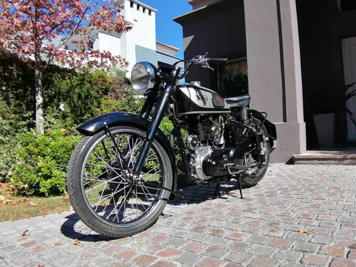 Moto Clasica Antigua Norton Internacional 500 Cc. Año 1949