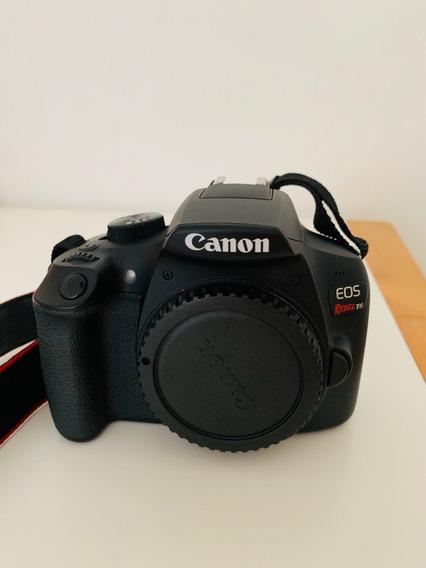 Kit Câmera Canon T6 Rebel +2 Lentes +bateria Extra +garantia