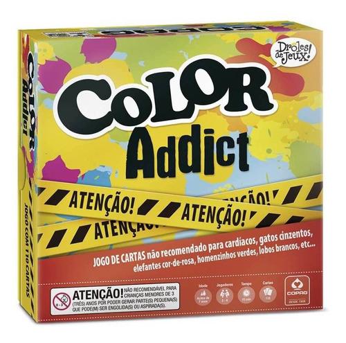 Jogo De Cartas Color Addict Droles De Jeux Original Copag