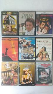 9 Dvds Filmes Clássicos Cult Indomável Meia Luz Frete Grátis