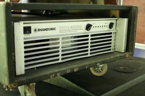 Potência Amplificador Shamsonic Hc14000. 6000 Watts Rms