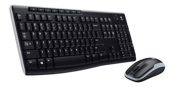 Teclado + Mouse Logitech Mk270 Wireless