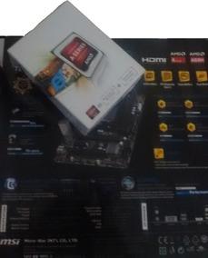 Placa Mãe: A68hm-e33 V2 + Processador: Amd A4 4000 3,2 Ghz