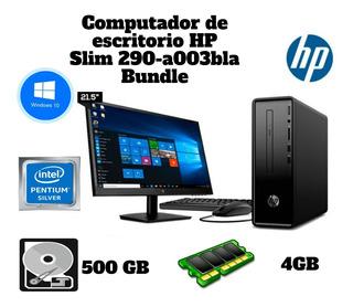 Computador De Escritorio Hp - 290-a003bla - Intel Pentium
