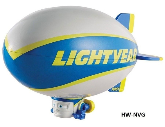 Disney Cars Blimp Balão Lightyear Dirigível Loose