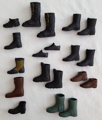 Compra De Zapatos Para Muñecos Max Steel, Ken, G.i Joe,otros