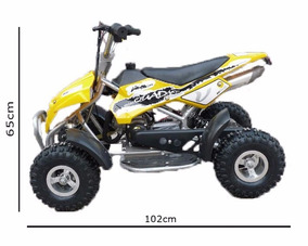 Super Mini Quadriciclo Dsr 49cc - 50cc 0km À Gasolina Atv !