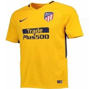 Camisa Atlético Madrid 2017/18 Away (tam P) Pronta Entrega