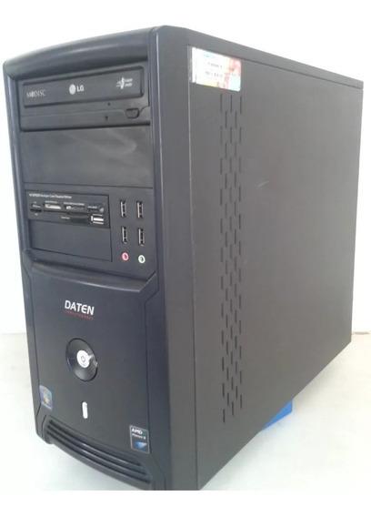 Computador Daten Phenom Ii X 4 965 @ 3.40 Ghz 2gb Ddr3 Hd160