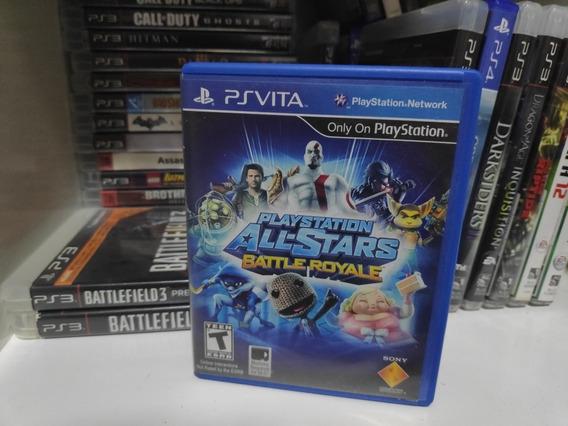 Playstation All Star Battle Royale - Mídia Física - Psvita