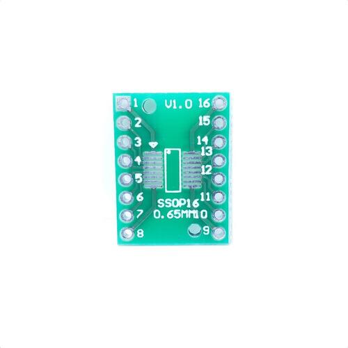 Adaptador Soic16 Sop16 Ssop16 Tssop16 A Dip16 0.65/1.27mm
