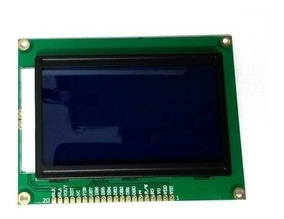 20 X Display Lcd Gráfico 128x64 Com Backlight Azul