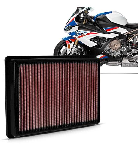 Imagem 1 de 2 de Filtro Ar Moto K&n Bmw S1000rr 2010 2011 2012 2013 A 2018