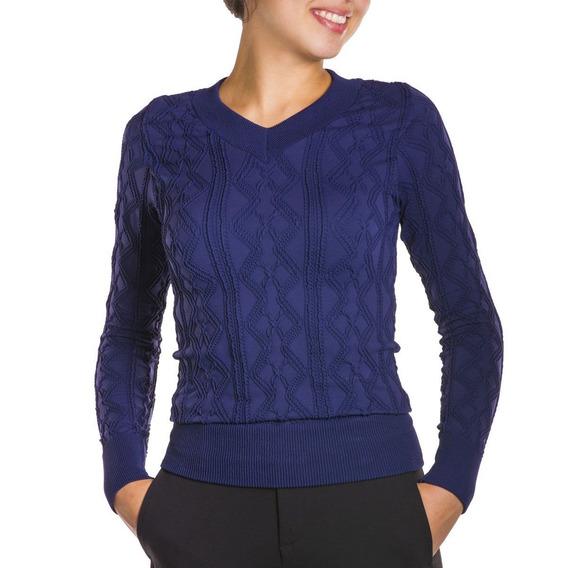 Blusa Feminina Loba Trend S/ Costura C/ Punho E Barra Longos