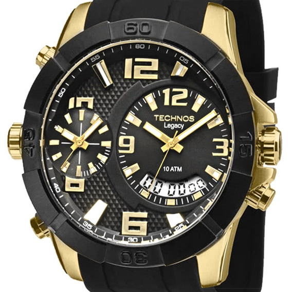 Relógio Technos Masculino Legacy T205fj/8p + Nfe
