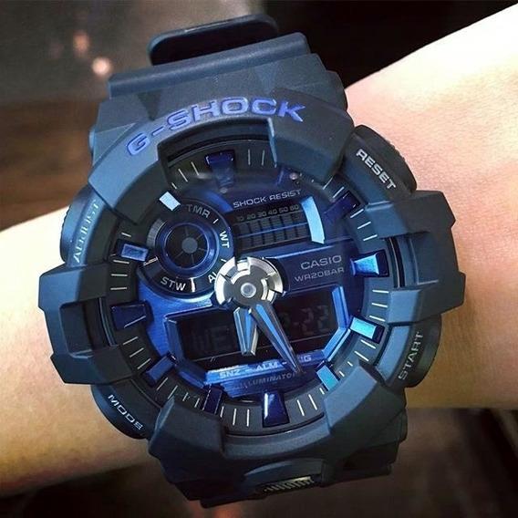 Relógio Casio Gshock Ga710-1a2 Original Estados Unidos