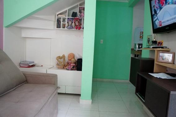 Casa Geminada Com 2 Quartos Para Comprar No Jardim Guanabara Em Belo Horizonte/mg - Dl148