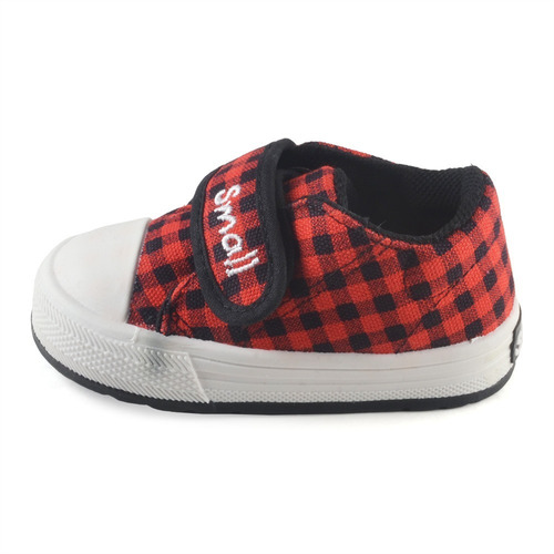 Zapatilla Bebe Cuadritos Abrojo Small Shoes