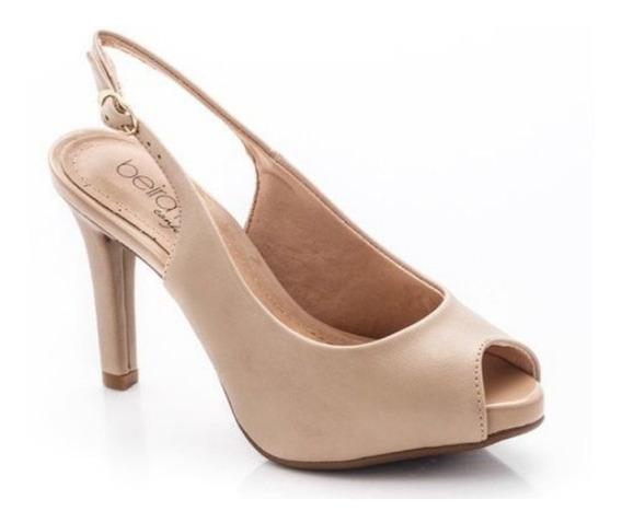 Zapatos Beira Rio Stilettos Boca De Pez Sin Talon 418 Rimini