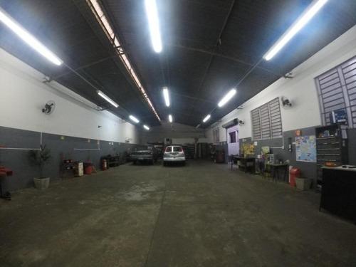 Salão Para Alugar, 375 M² Por R$ 7.800,00/mês - Chácara Machadinho - Americana/sp - Sl0219