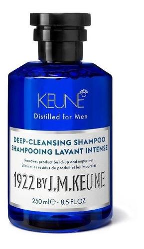 Shampoo Masculino Keune 1922 Deep Cleansing Shampoo 250ml