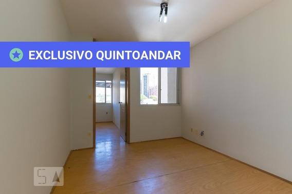 Apartamento No 5º Andar Com 1 Dormitório E 1 Garagem - Id: 892971335 - 271335