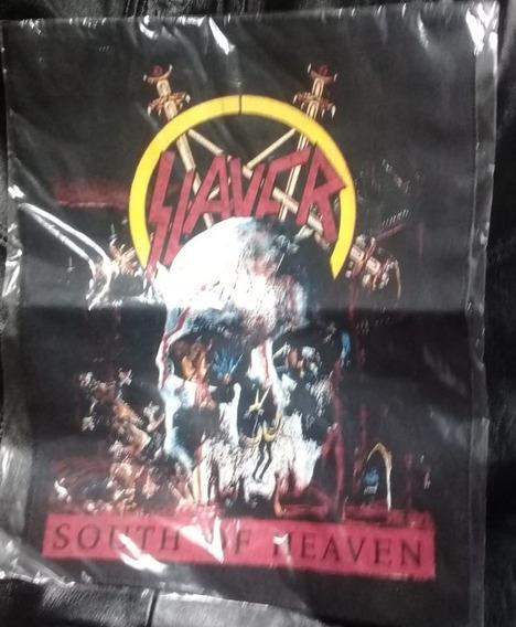 Espalderas Grupos De Metal Rock Slayer Y Deicide