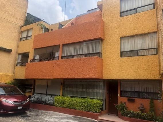 Santa Ursula Xitla, Tlalpan, Preciosa Casa Junto A Patio Tlalpan, Impecable!