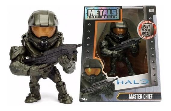 Boneco De Metal Die Cast - Halo 4 - Master Chief M330