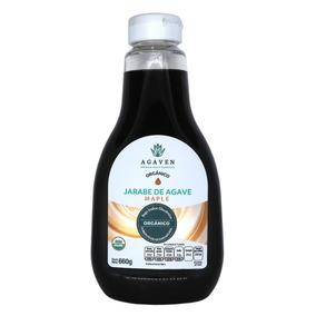 Endulzante De Agave Orgánico Maple 660 Gr
