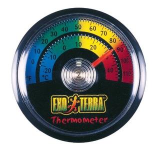 Exo Terra Ret-o-meter Termometro De Reloj