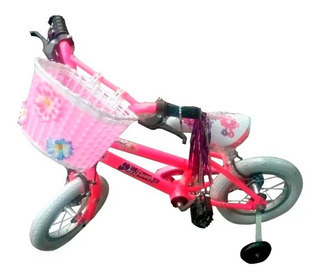 Bicicleta Rodado 12 Nena Canasto S/int // Richard Bikes
