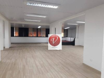 Salão Comercial Para Locação, Centro, São Caetano Do Sul - Sl0176. - Sl0176