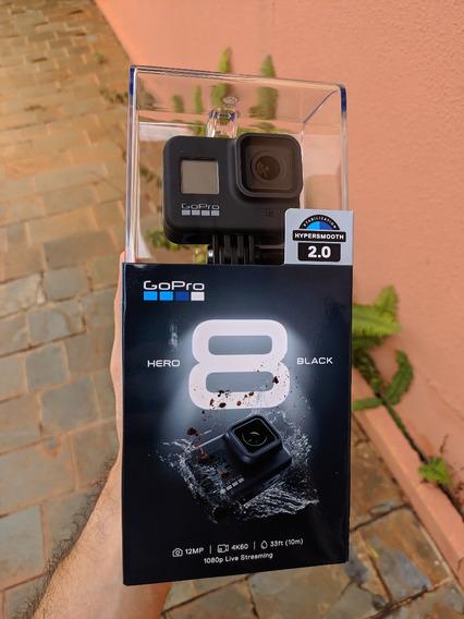 Gopro Hero 8 Black + Cases + Películas / Lacrada ( Promoção)