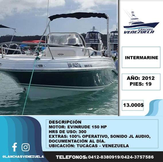 Lancha Intermarine 19 Lv88