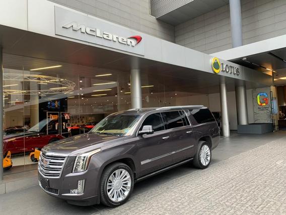 Cadillac Escalade Esv Suv 2016 Larga - Como Nueva