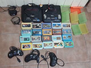 Family Game Sega Consolas Y Juegos Retro Vendo Lote Completo