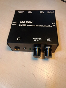 Power Click Amplificador De Fone Retorno Para Musico