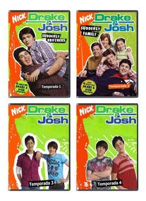 Drake Y Josh Serie Completa Temp. 1-4 + Peliculas Latino Dvd