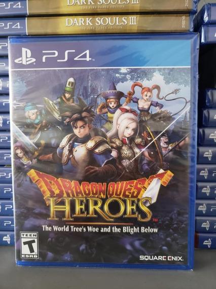 Dragon Quest Heroes Ps4 - Mídia Física Lacrado