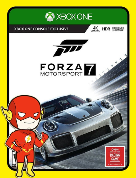 Forza 7 Motorsport Xbox One - 25 Dígitos (envio Flash)