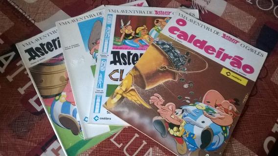 Revistas Asterix 1968 E 1969 Cedibra
