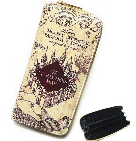 Harry Potter Cartera Envio Gratis Hogwarts Billetera Moneder