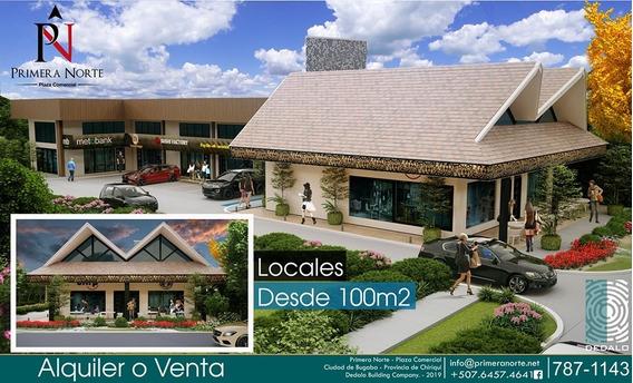 Plaza Comercial De 6 Locales De Doble Altura Y Mezannine