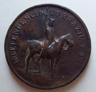 1822 1904 Medalha Independência Do Brazil 28 Mm / Dom Pedro
