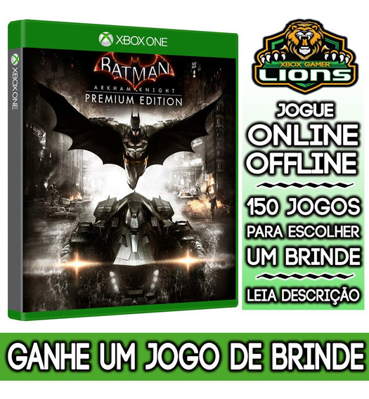 Batman Arkham Knight Premium Edition Xbox One + Brinde