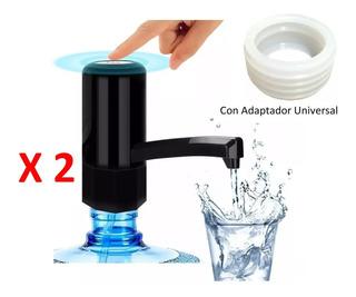 2 Despachadores De Agua Recargable Usb Empaque Universal