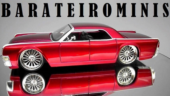 1:24 Jada Lincoln Continental 1963 Bigtime Barateirominis