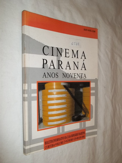 Livro - Cinema Paraná Anos Noventa
